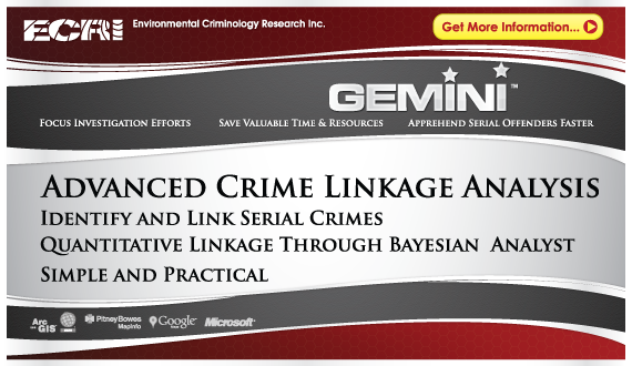 New! Gemini Advance Crime Linkage Analysis