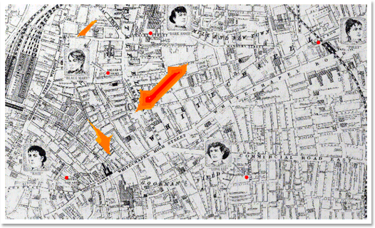 Jack the Ripper Geoprofile